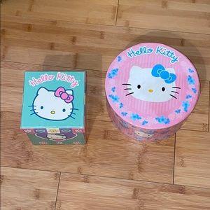 Hello Kitty Storage Boxes - Set of 2
